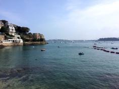 Saint Malo vue de Dinard
