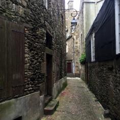 Promenade dans les ruelles de Saint-Malo